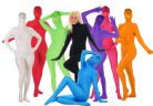 SHADOWSUITS ALL IN ONE DELUXE ZENTAI SUIT PINK SMALL SM